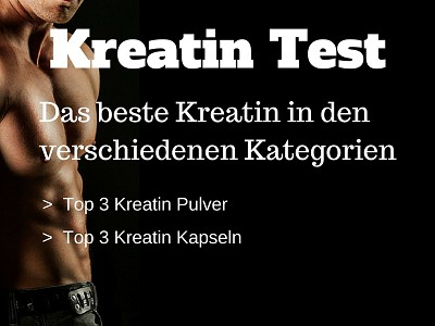Kreatin Test - Das beste Kreatin